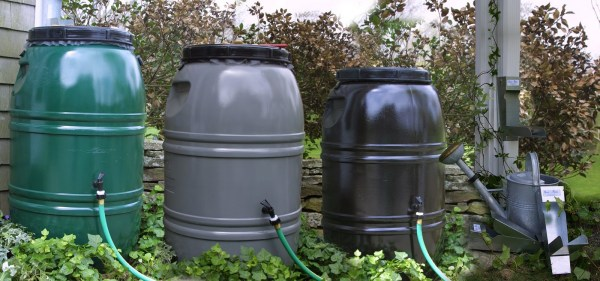 Rainwater Collection Barrels Available