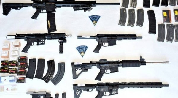 Massachusetts State Police arrest man, seize home-assembled